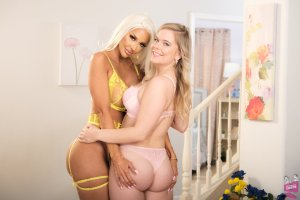 Courtney Taylor and Percy Sires Mother-Daughter Exchange Club 61 | Girlfriends Films
