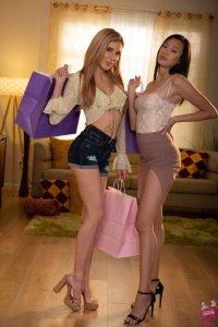 Aiden Ashley and Madi Laine Women Seeking Women 181 | Girlfriends Films