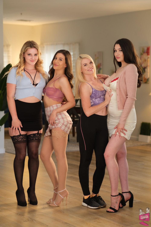 Cast of Lesbian Triangles 37