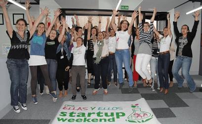 Ellas 2.0 Startup Weekend Madrid