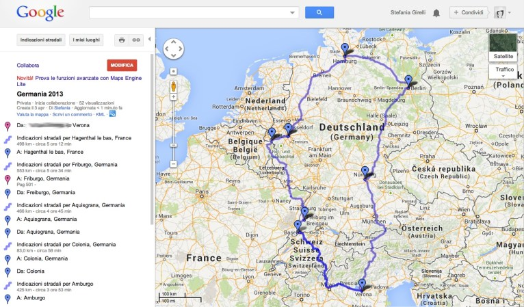 Mappa Germania 2013