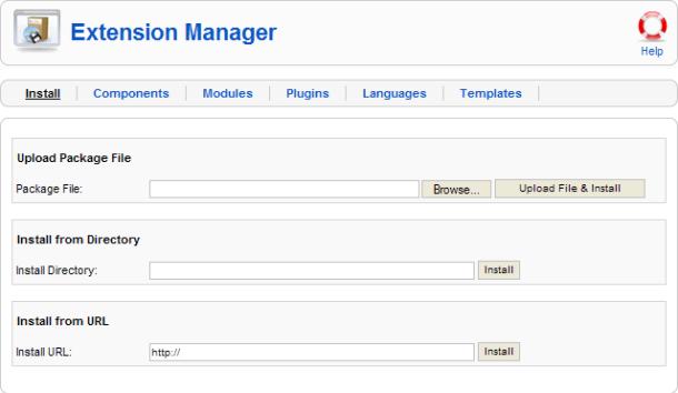 Extenscion Manager