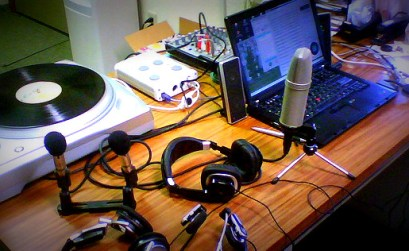 Mobile Podcast Recording Studio - Foto di theunabonger