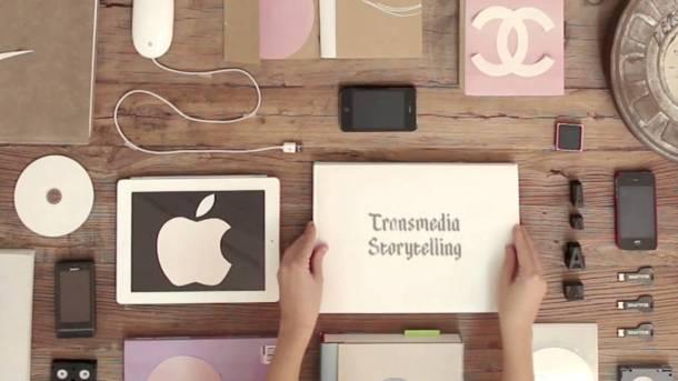 Immagine tratta dal video  Cinderella 2.0: Transmedia Storytelling FCB Global