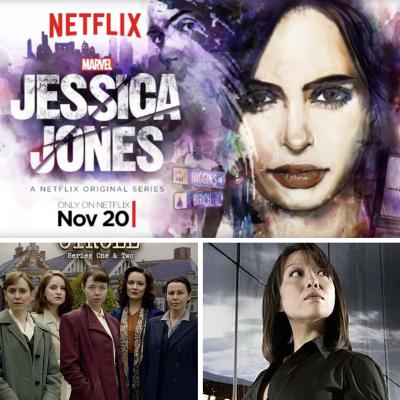 3 serie tv geek: Jessica Jones, The Bletchley Circle, Torchwood