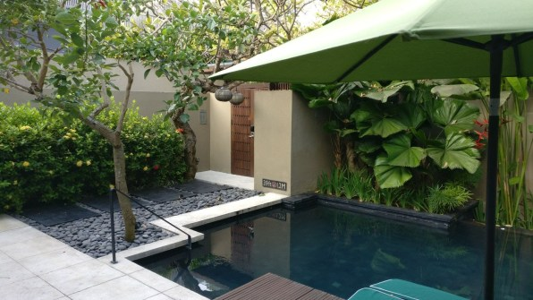 Bali Honeymoon W Hotel Marvelous Villa pool