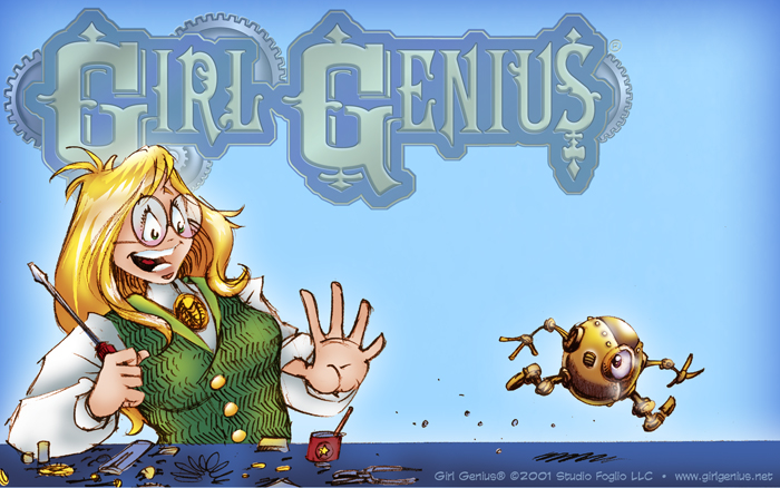 Girl Genius Webcomic - Jump to Site