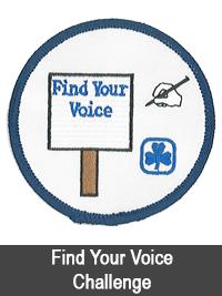Find Your Voice Challenge