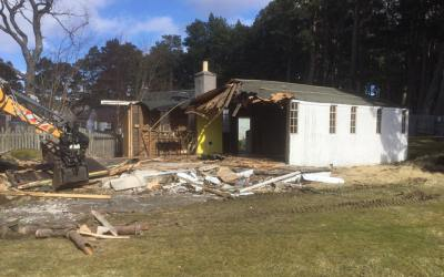 Demolition Takes Place