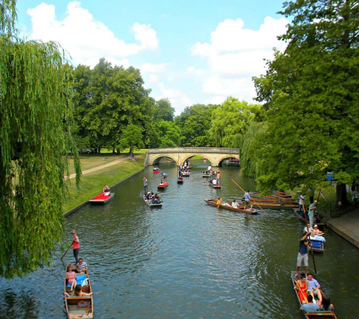 An Afternoon in Cambridge