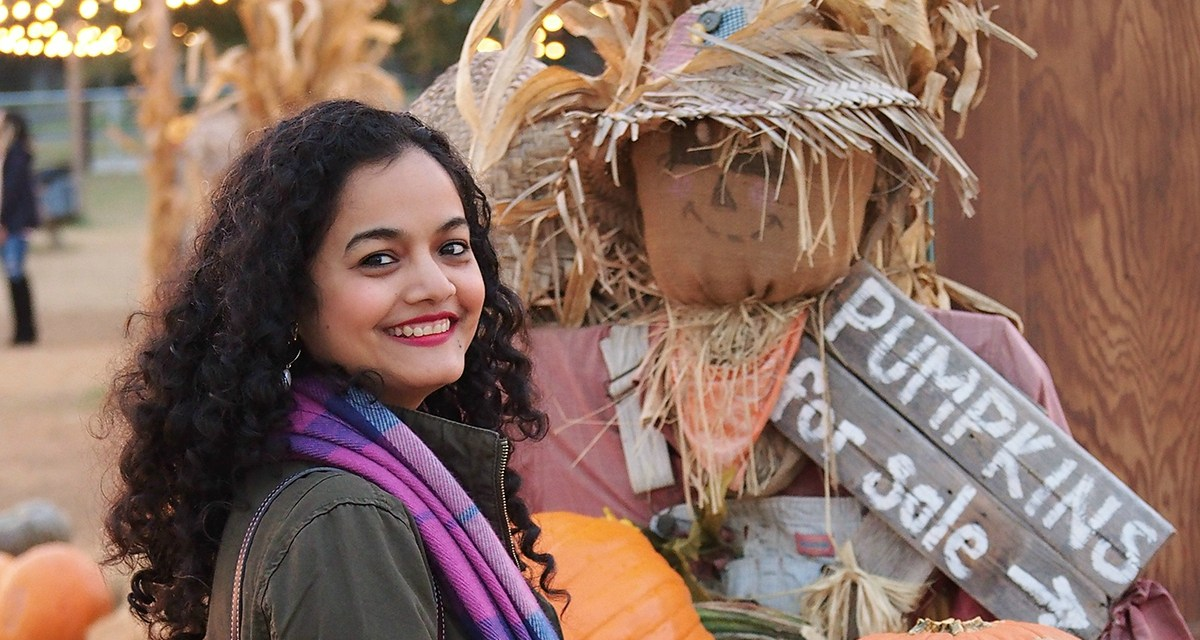 Halloween on the Farm   Visit to Hall's Pumpkin Farm