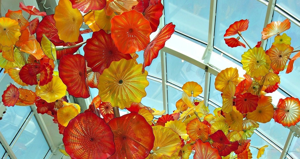 A Walk Through Chihuly Garden and Glass in Seattle – Home to the Amazing Art of Dale Chihuly