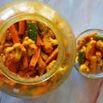 Gajar Mooli ka Achar   Winter Special Carrot Radish Pickle