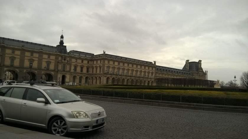 Street View, Paris City Centre