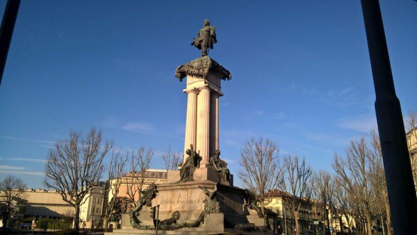 Statue of Vittorio Emmanuele I, Turin