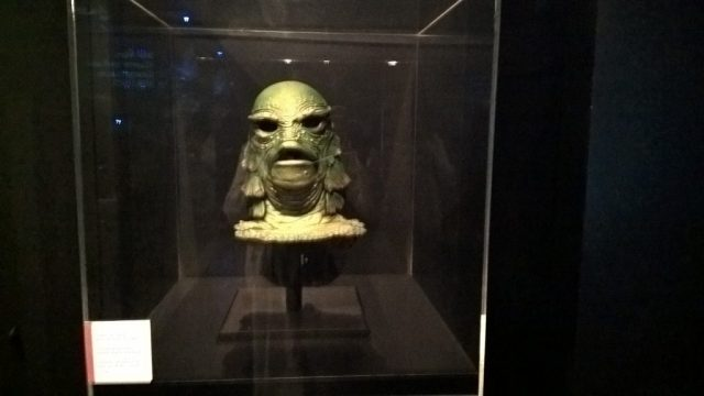 Inside the Cinema Museum - recognize this head?