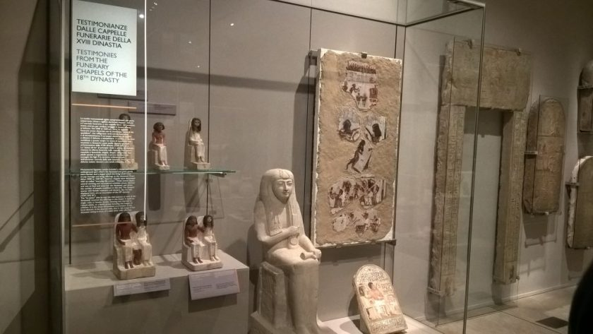 Testimonies from the funerary chapels of the 18th dynasty