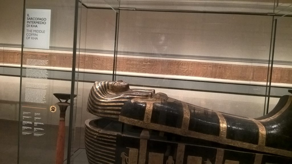 The Middle Coffin of Kha, Egyptian Museum