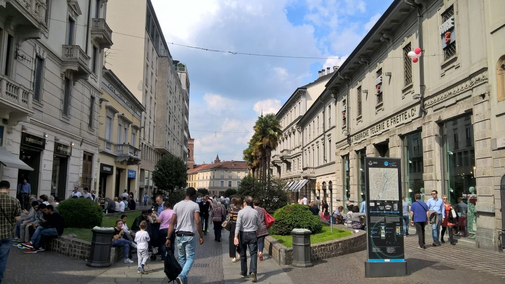 Street view of Monza