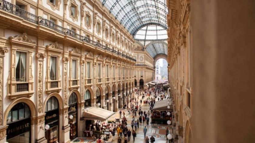 galleria vittorio emanuele ii shopping mall
