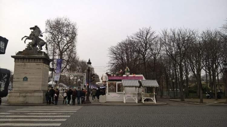 Champs Elysees Arc De Triomphe