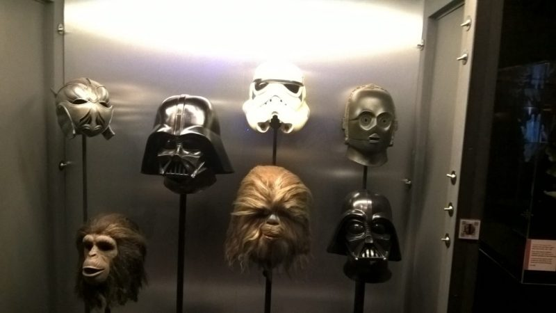 Inside the Cinema Museum - Recognise these super heroes?