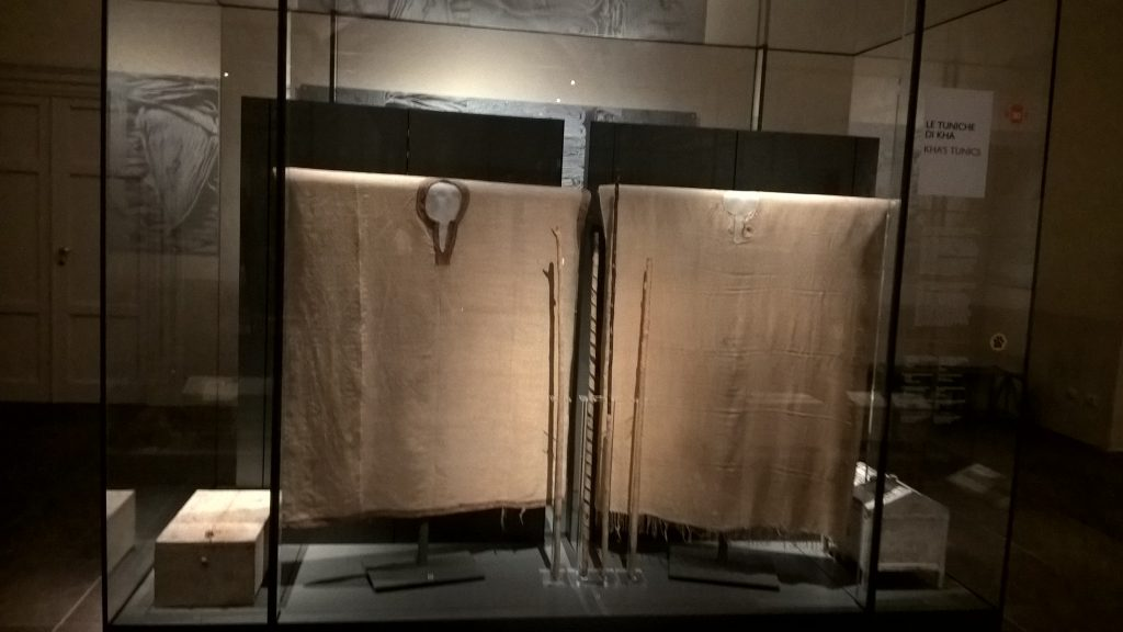 Kha's Tunic, Egyptian Museum