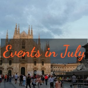 events in July