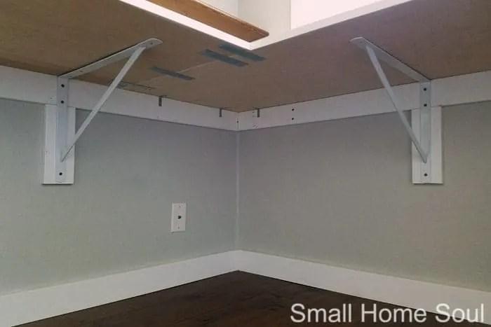 diy l shaped desk home office