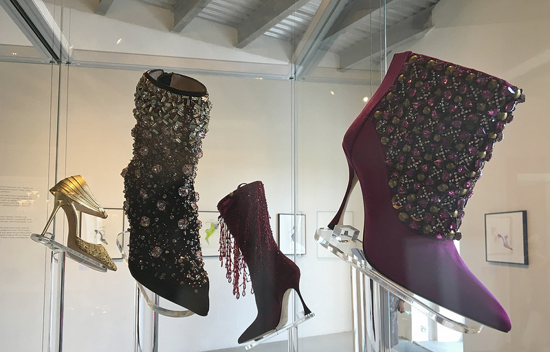 Manolo Blahnik The Art Of Shoes Exhibition At Museum Kampa ... 8eaec6b293700