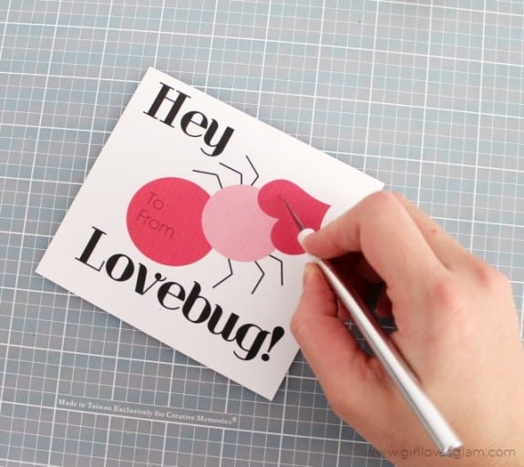 DIY Printable Valentine