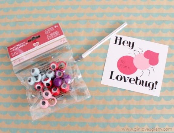 Lovebug DIY Non Candy Valentine