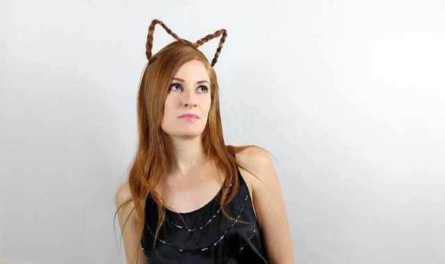 Cat Ears Hair tutorial
