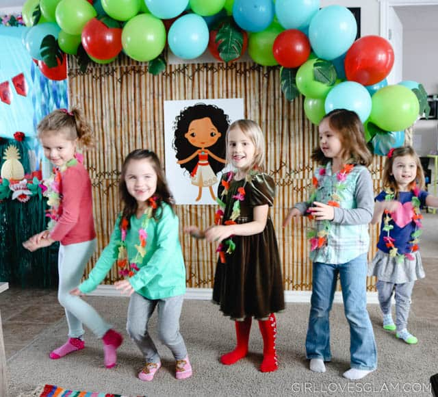 Moana Party Games And Printable Bingo Girl Loves Glam