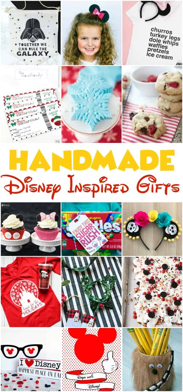 Handmade Disney Inspired Gifts on www.girllovesglam.com