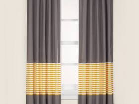"""New Curtains for Baby's Room From """"The Land of Nod""""— Not a Peep Curtain Panels"""