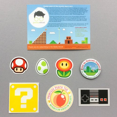 The Geeky Decal Review + Coupon Code – April 2017