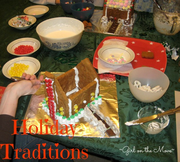Holiday Traditions #merryblogmas