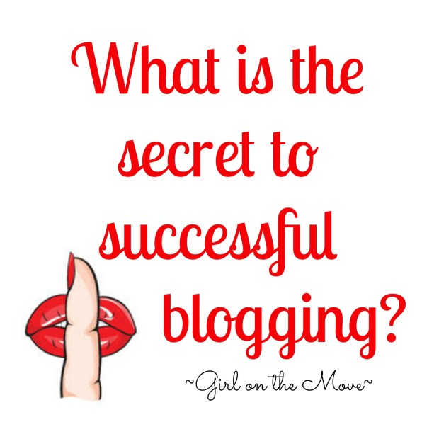The secret to successful blogging