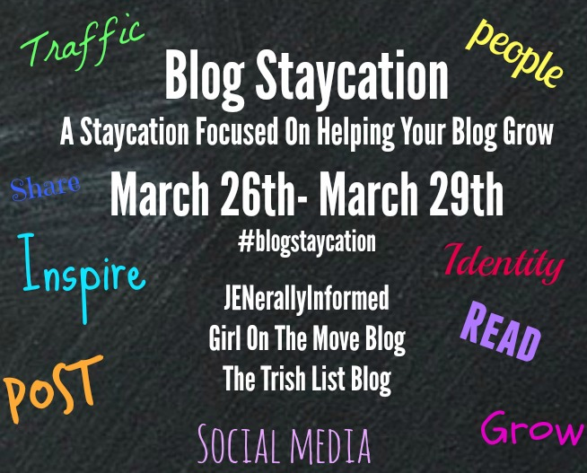 Blog Staycation to help you improve your blogging