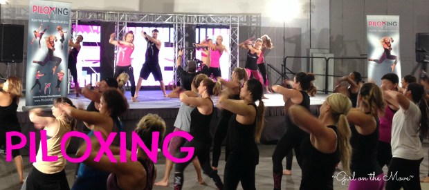 Piloxing workout is a combination of dance, Pilates and boxing
