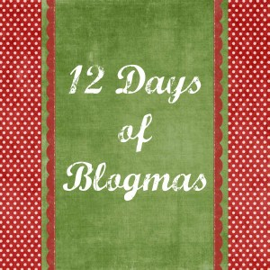 Celebrate #12DaysofBlogmas with tons of holiday fun!
