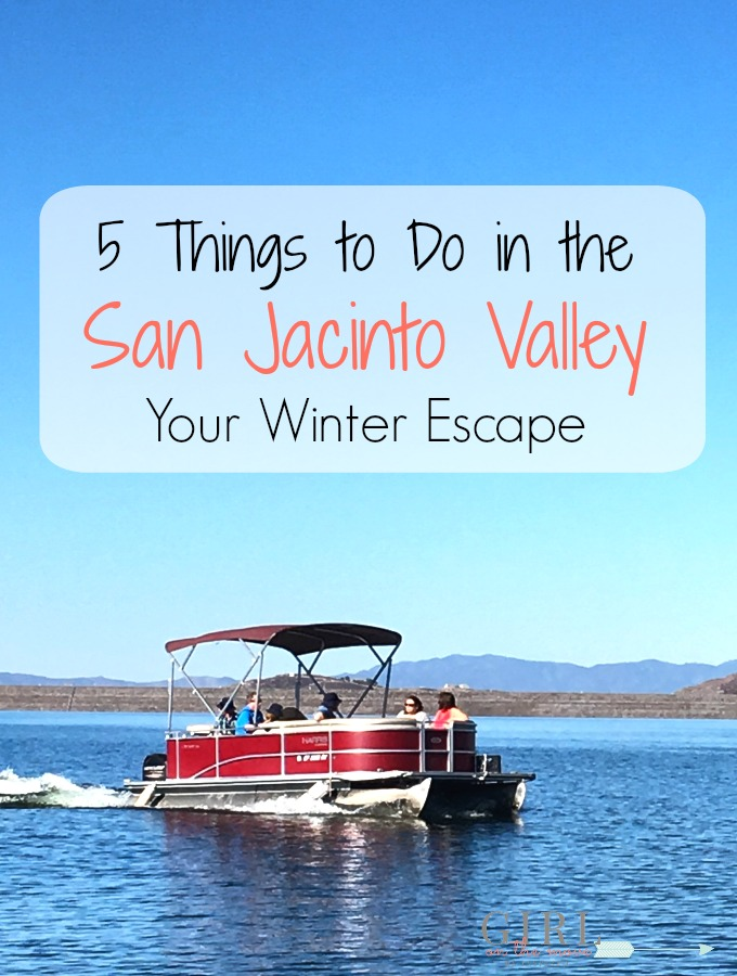 Escape the winter blues with a trip to the San Jacinto Valley in Southern California where you can hit the lake, trails and delicious restaurants.