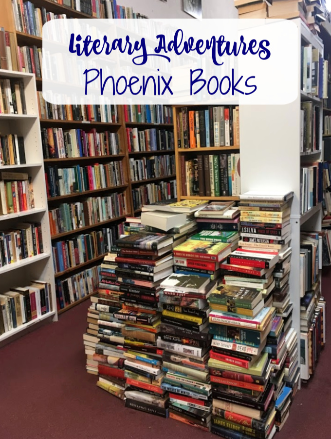 A trip to San Luis Obispo, California should include a stop at Phoenix Books where you can explore shelf after shelf of used books.