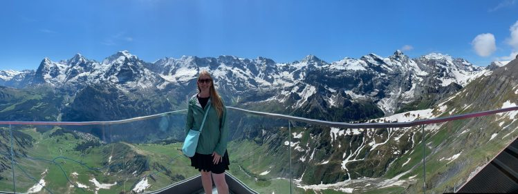 Everything you need to know about visiting Schilthorn, in the Bernese Alps of Switzerland. A look at how to plan, what to expect and summit pictures.
