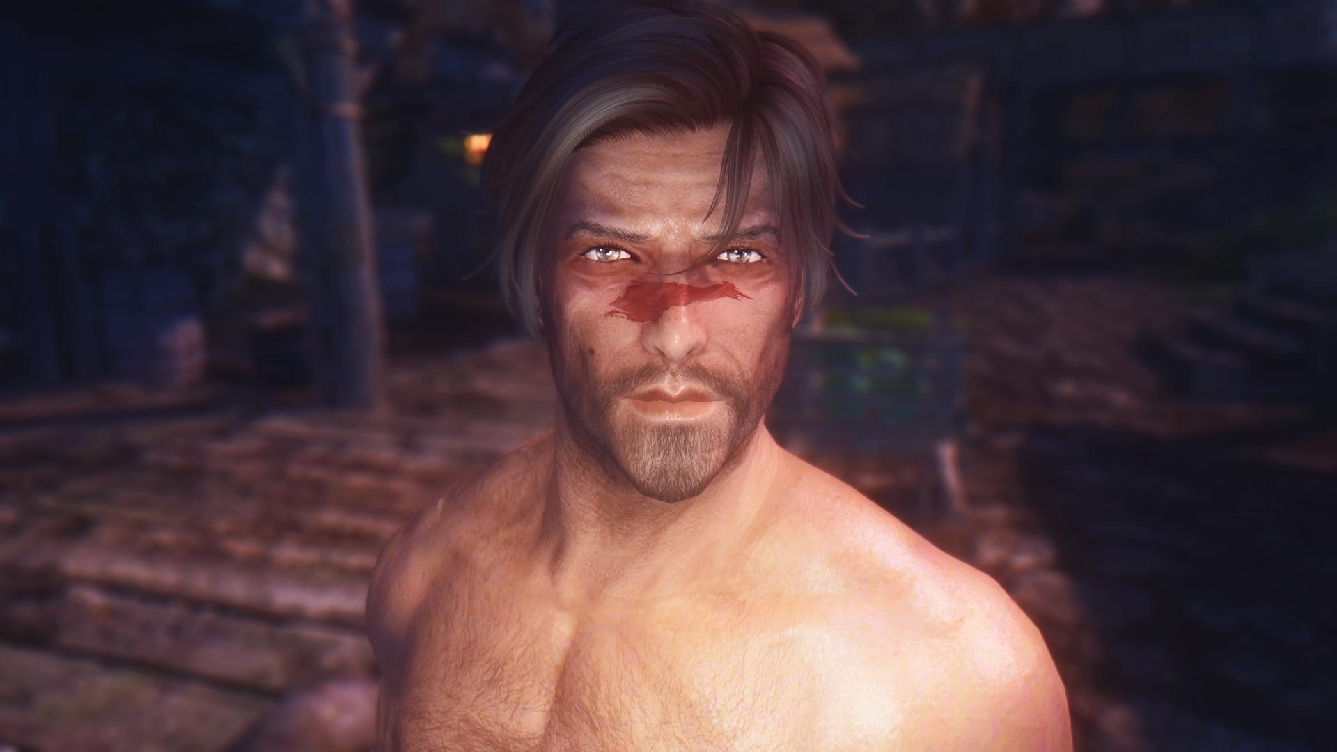 Most Beautiful Man in Skyrim - Tannick Standalone Follower