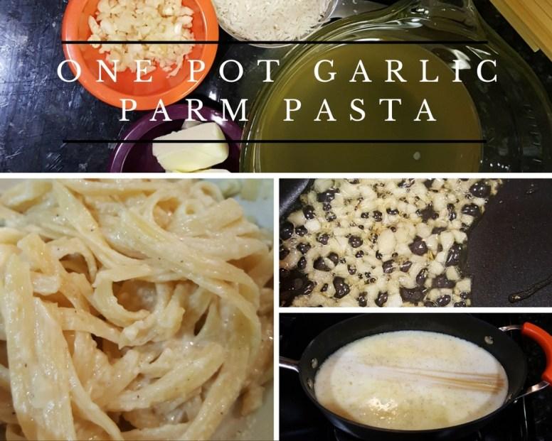 One Pot Garlic Parm Pasta
