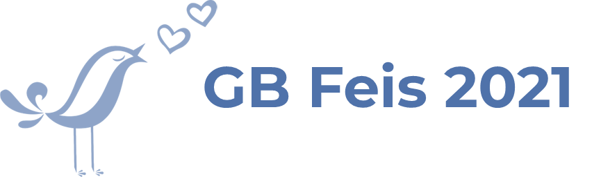Bird Singing with text GB Feis 2021