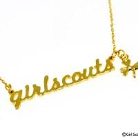 ネックレス アルファベットライン ゴールド ¥2,916