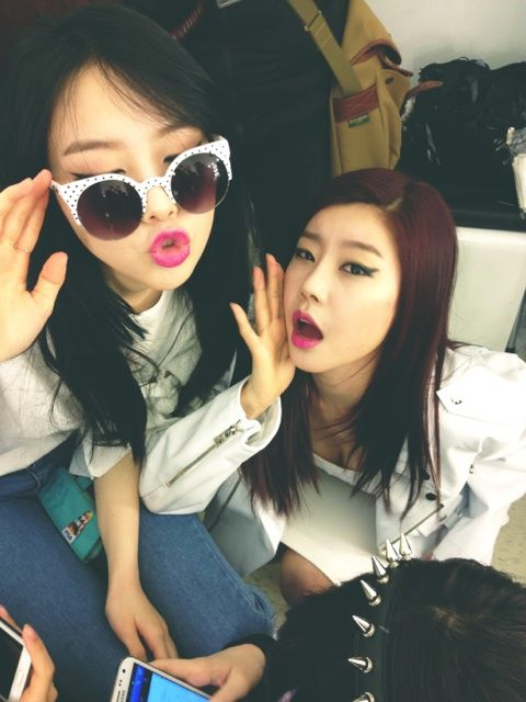 Girls Day Sojin & Minah